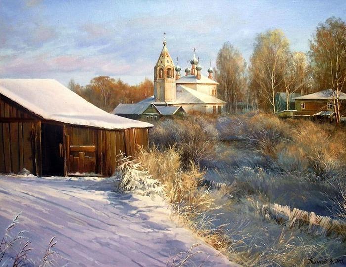 Деревня глазами художника Палачева В.Н.