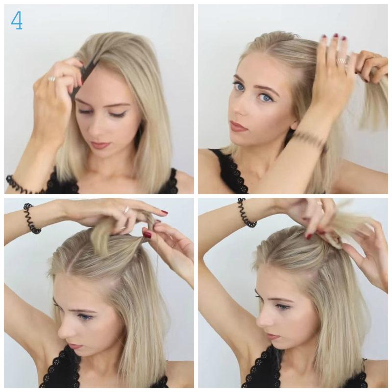 10 лёгких причёсок для коротких волос на каждый день