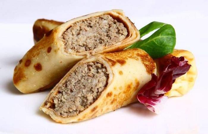 Идеальная начинка для блинов - рецепт пошаговый с фото