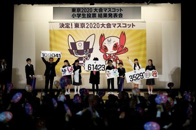 Талисманами ОИ-2020 в Токио стали фигурки в стиле японского аниме