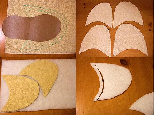 Как сшить мягкие домашние тапочки своими руками — мастер класс в картинках