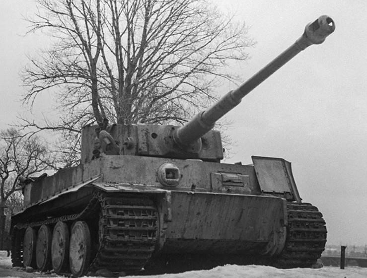 Использование трофейных «Пантер» и «Тигров» на завершающем этапе Великой Отечественной войны оружие,танки