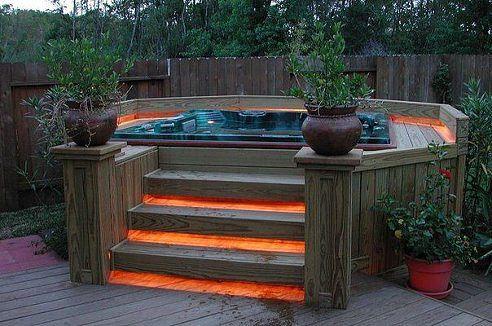 Идея небольшого бассейна