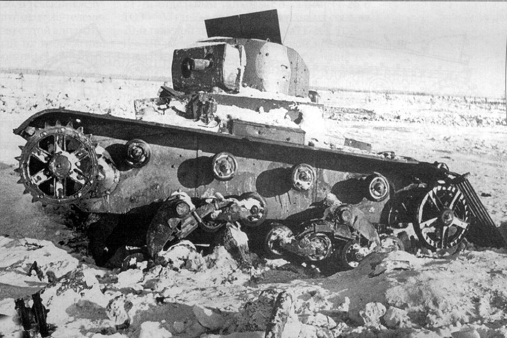 Телеуправляемый танк ТТ-26, февраль 1940 года. Фото: wikipedia.org