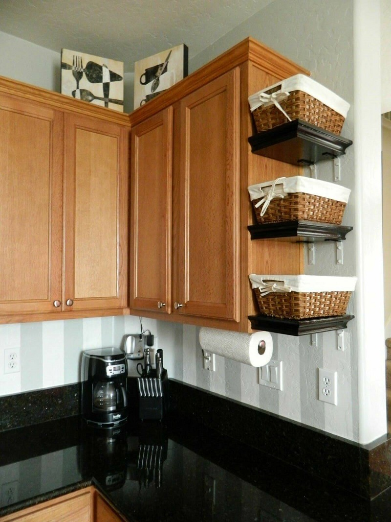 корзины на кухне