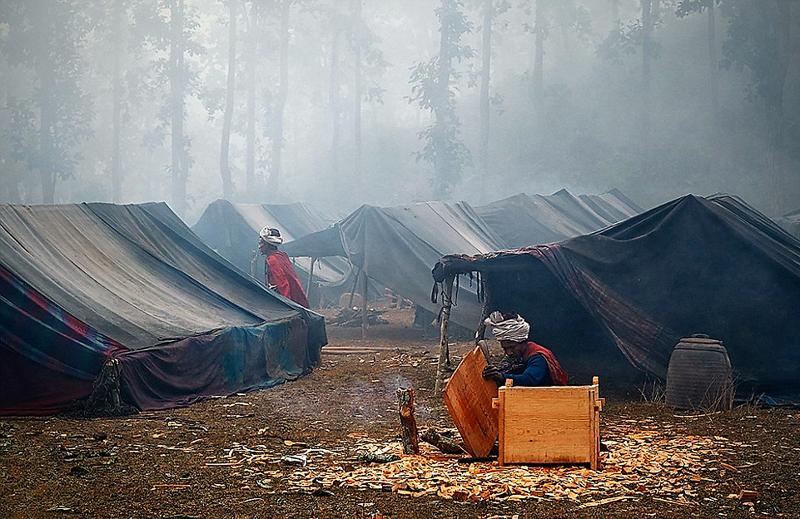 Последние охотники и собиратели: жизнь племени рауте в Непале интересное, непал, племя рауте
