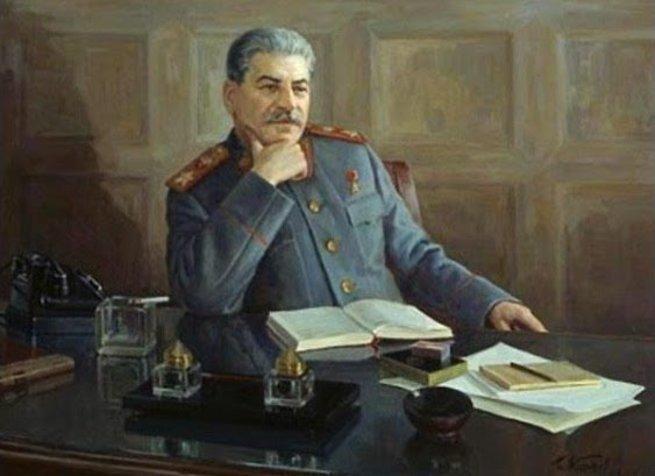 """Мастер-класс Сталина на тему """"как надо отвечать на вопросы западных журналистов"""""""