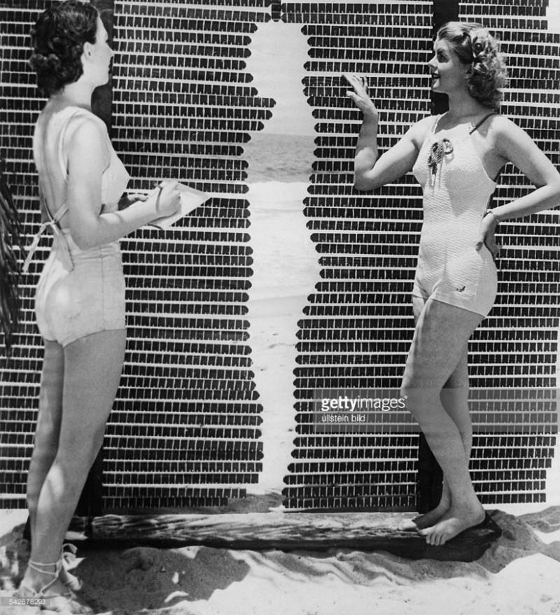 Определение идеальной формы тела на конкурсе красоты Мисс Калифорния - 1937. история, события, фото