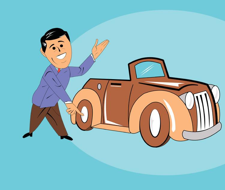 Как мужик свой автомобиль продавал