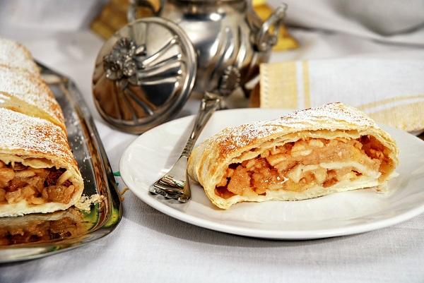Яблочный пирог из лаваша выпечка,десерты,кулинария,сладкая выпечка