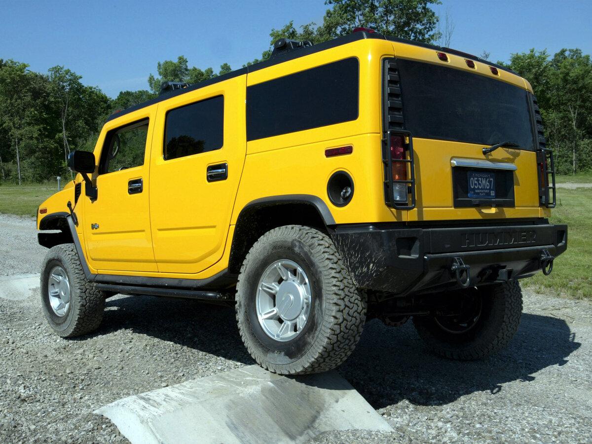 """""""Понты дороже денег"""" - крутой внедорожник, который я бы не рекомендовал покупать - Hummer H2 авто и мото,водителю на заметку"""