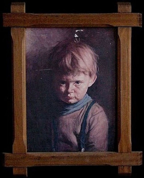 «Плачущий мальчик». Автор: Джованни Браголин.