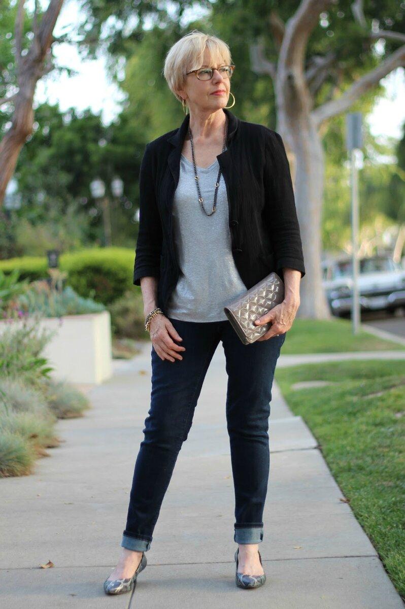 Стиль, в котором женщина 50-60 лет всегда чувствует себя комфортно