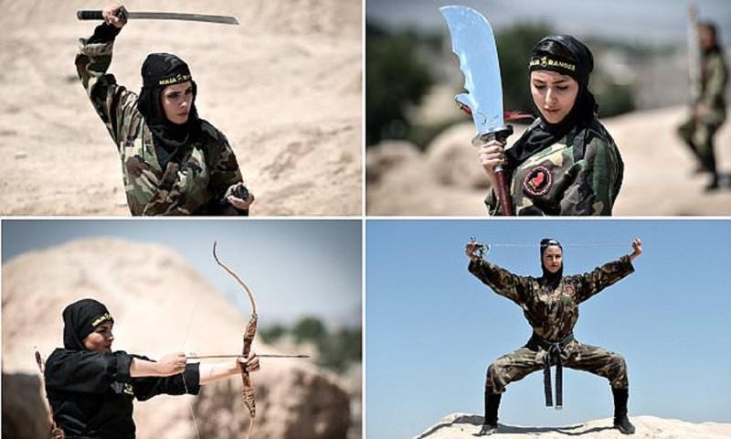 Иранские женщины-ниндзя - смертельное оружие, от которого не спастись