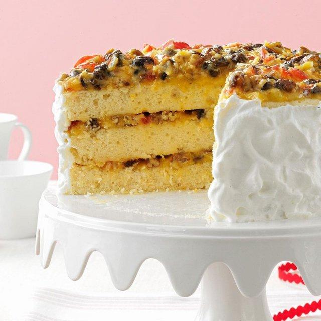 южно-американский рождественский торт