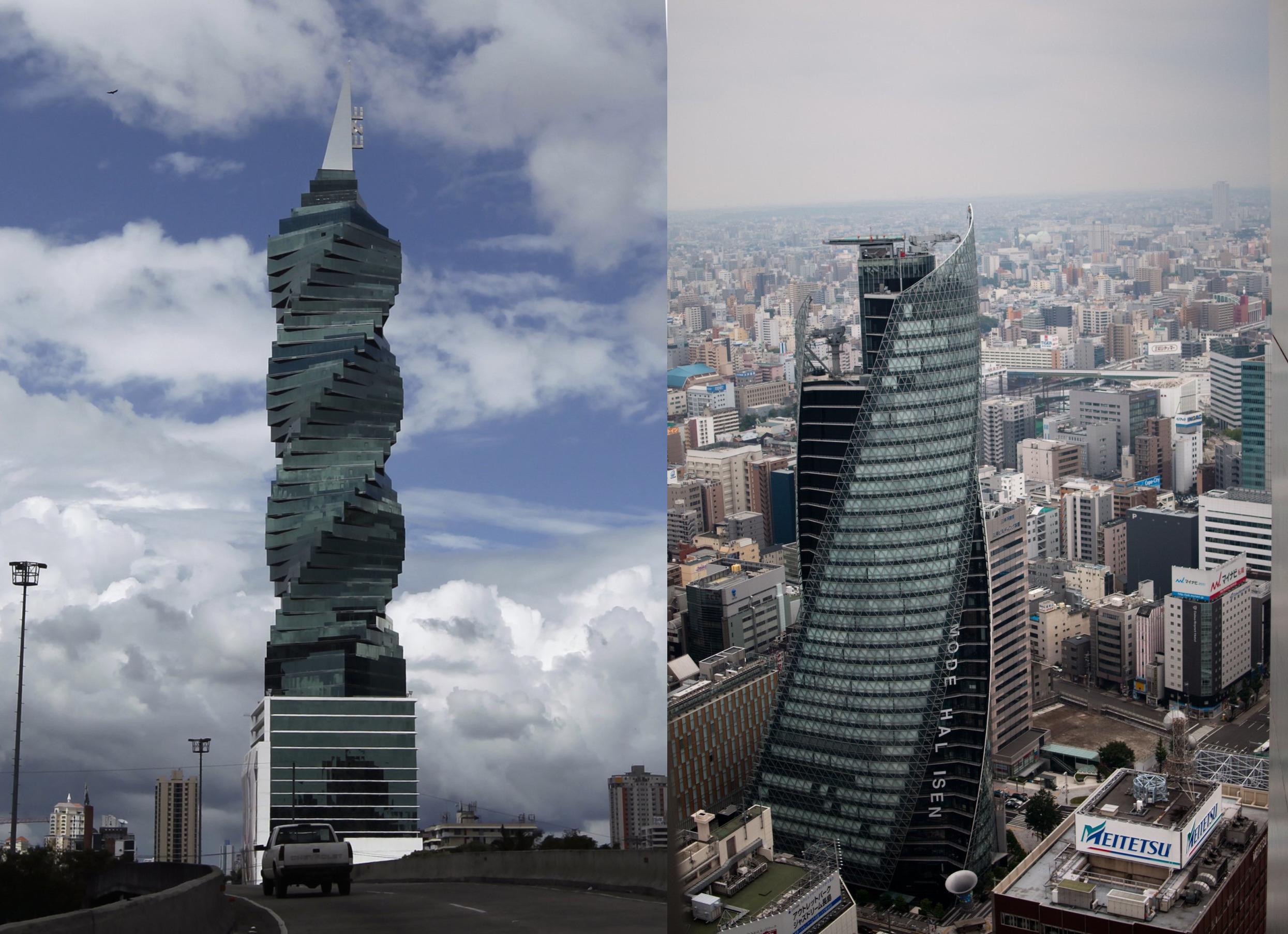 Московская башня «Эволюция» и еще 12 спиралевидных небоскребов мира архитектура,небоскребы