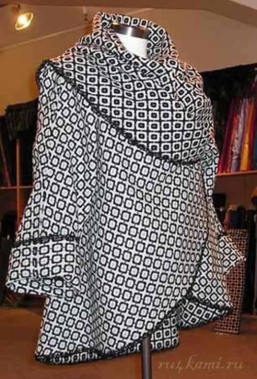 На заметку тем, кто шьет - это пальто шьется быстро и просто одежда