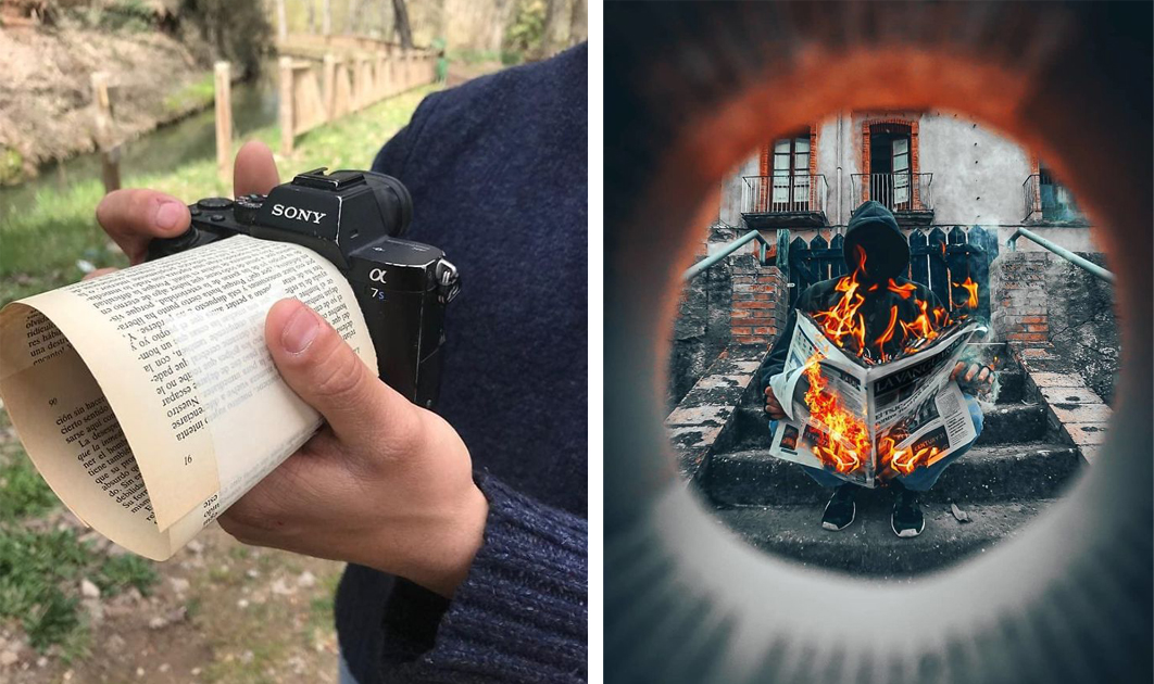 новые, красивые интересные фишки для фотографа которое вам показала