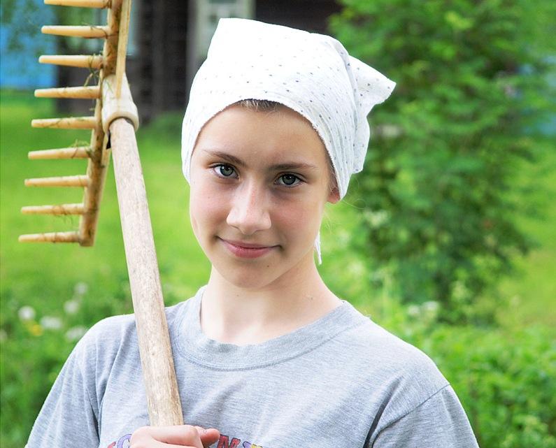 Хозяйка -  в деревенском понимании этого слова - Поля была плохая. Ни скотины, ни огорода не держала