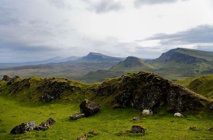 Изумрудные долины Шотландии.