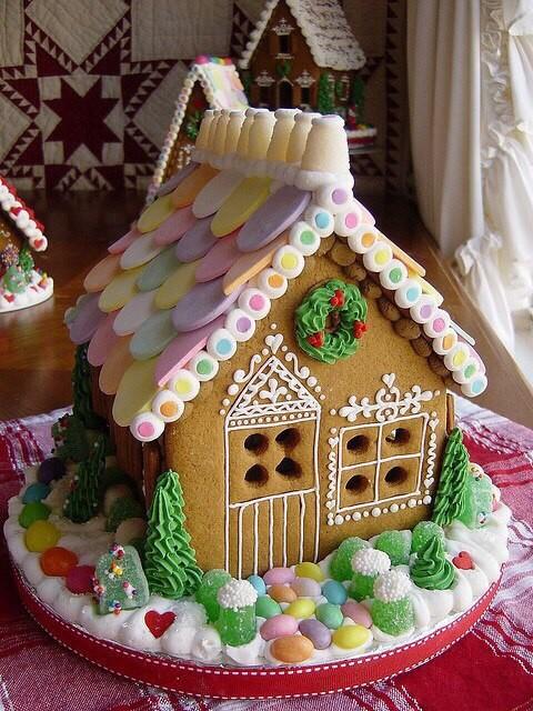 До чего же они красивые, эти пряничные домики!