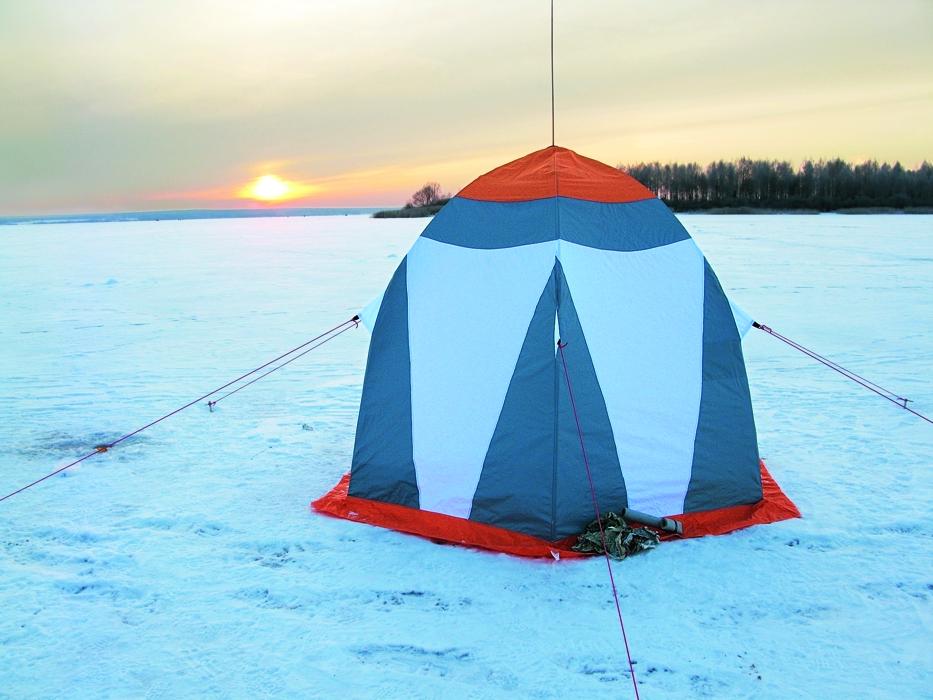 Палатка обеспечивает комфорт и уют.