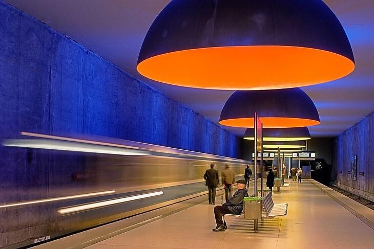 В мюнхенском метро