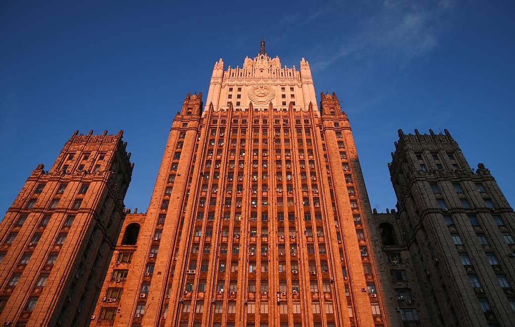 Здание Министерства иностранных дел РФ Валерий Шарифулин/ТАСС
