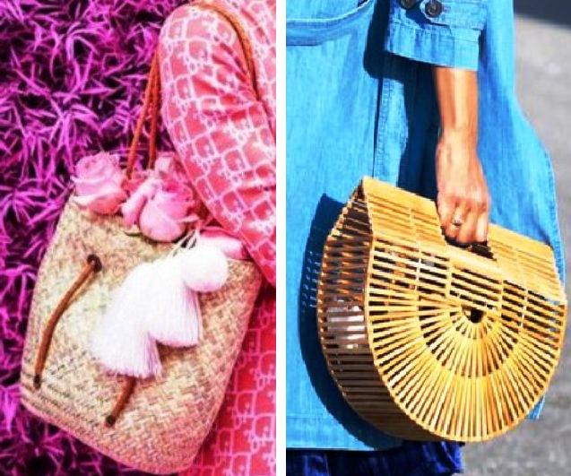 Горячий летний тренд 2017 — сумки-корзинки. С чем носить?