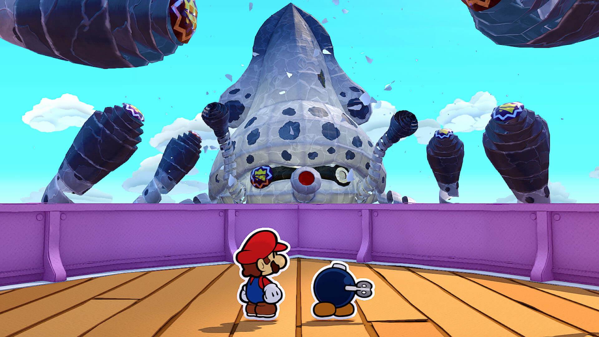 Обзор Paper Mario: The Origami King action,adventures,arcade,fantasy,pc,ps,Аркады,Игры,Приключения,Фентези