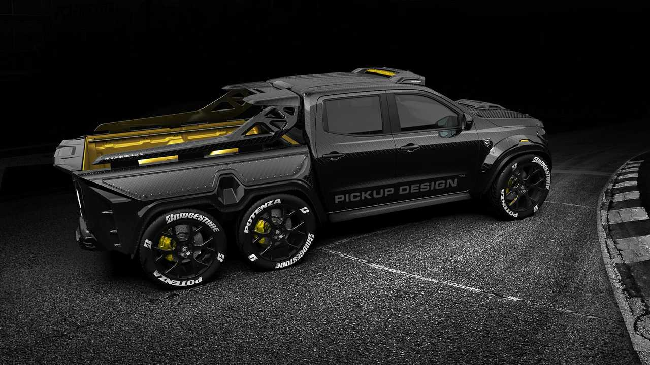 Дизайн пикапа Exy Monster X Concept Mercedes-Benz X-Class