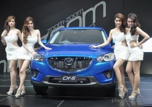 Компания Mazda готовит обновление кроссовера CX-5