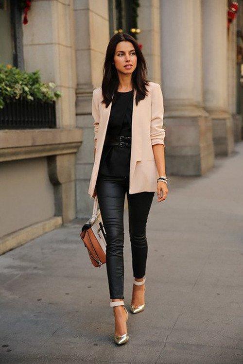 Как стильно носить жакет
