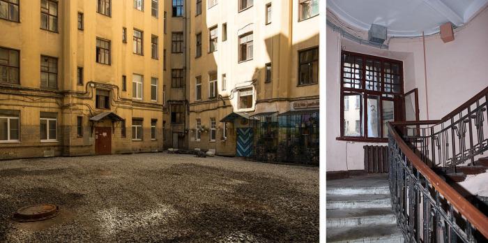 В жилом комплексе начала XX века все было продумано до мелочей, и этот доходный дом считался престижным. Фото: the-village.ru, citywalls.ru