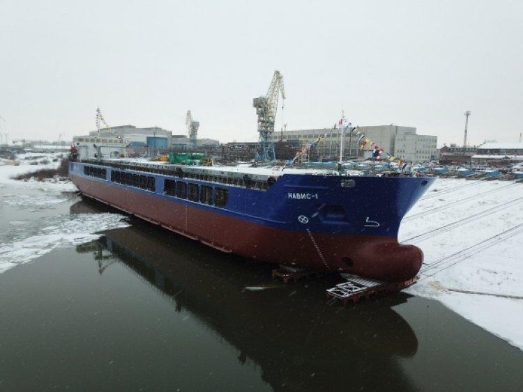 Проект RSD32M: в РФ спустили на воду новейшее судно