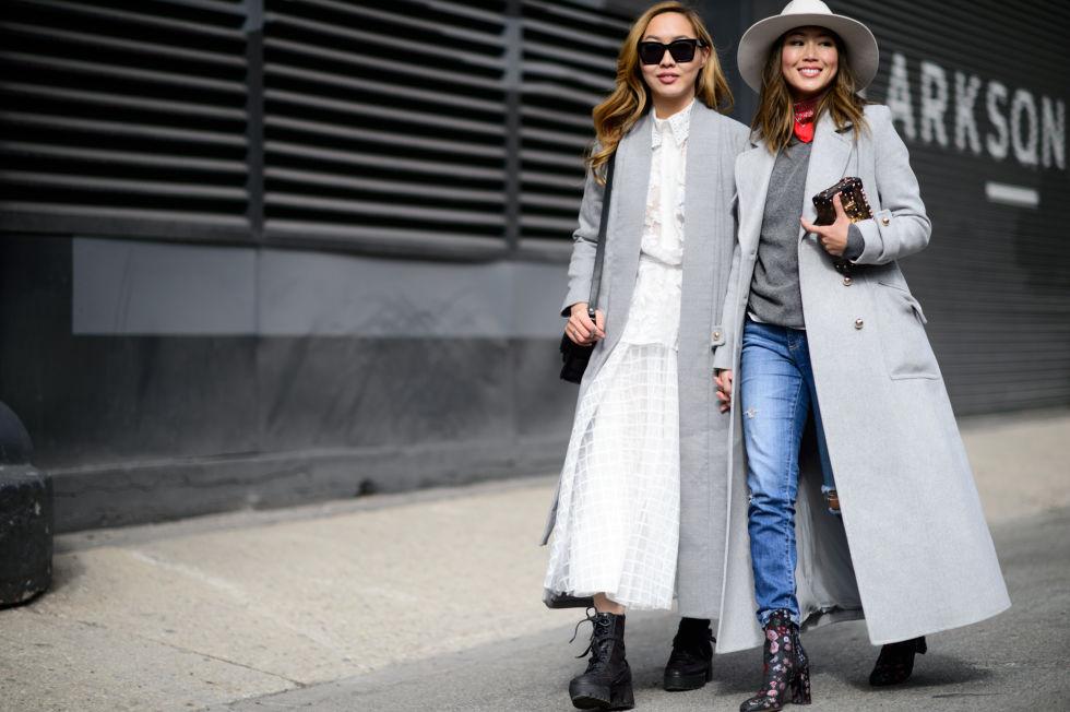 """Картинки по запросу """"winter street style grey coat"""""""""""