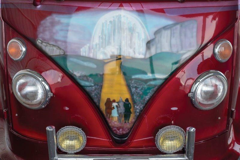 В этом году его продали на аукционе за $15,950 (2 000 000 руб.) volkswagen, volkswagen t1, авто, автомобли, кастомайзинг, микроавтобус, ретро авто, тюнинг
