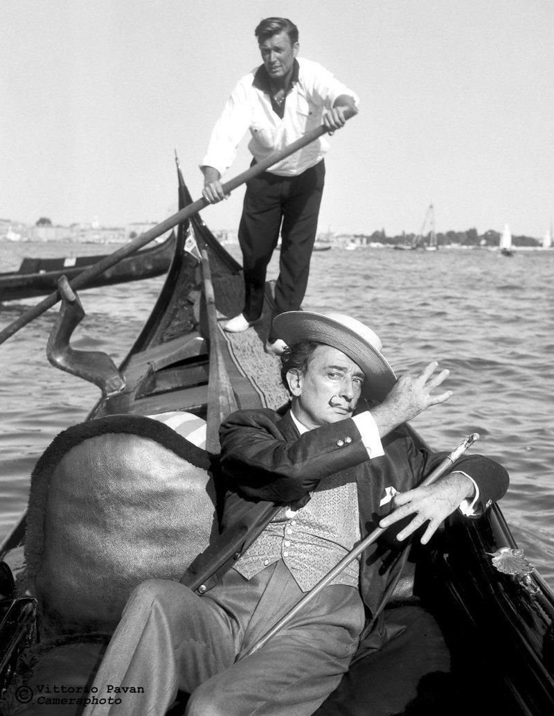 Сальвадор Дали архив, венеция, негативы, фотографии