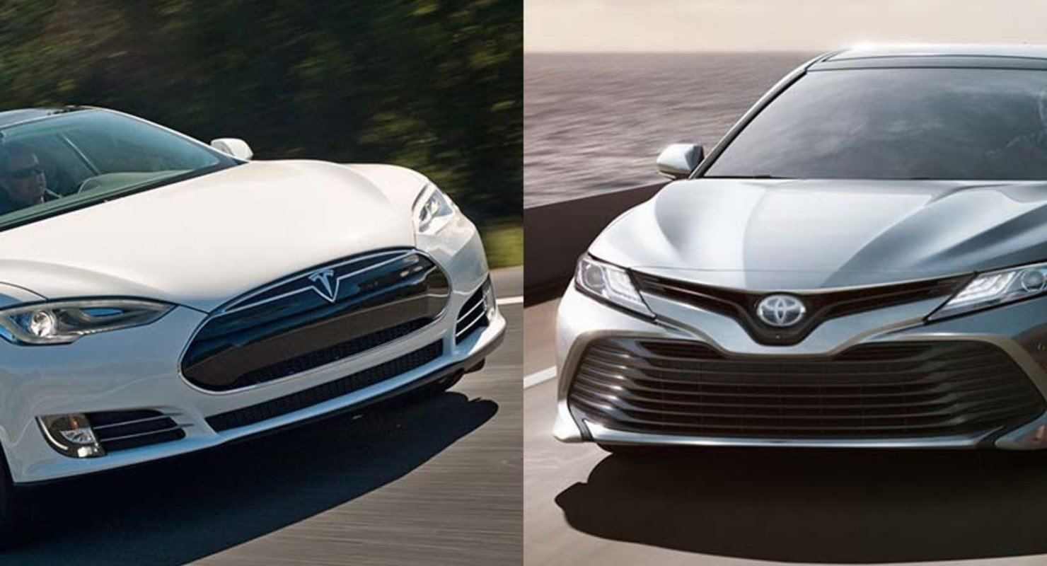 Озвучена цена владения Tesla Model 3 в сравнении с Toyota Camry