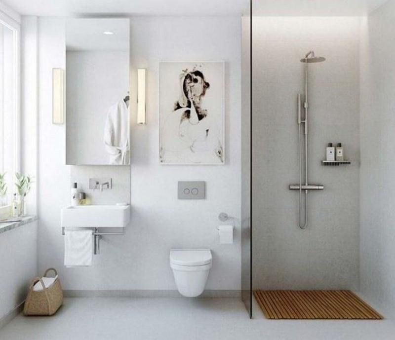 Как грамотно обустроить маленькую ванную: 30 крутых идей