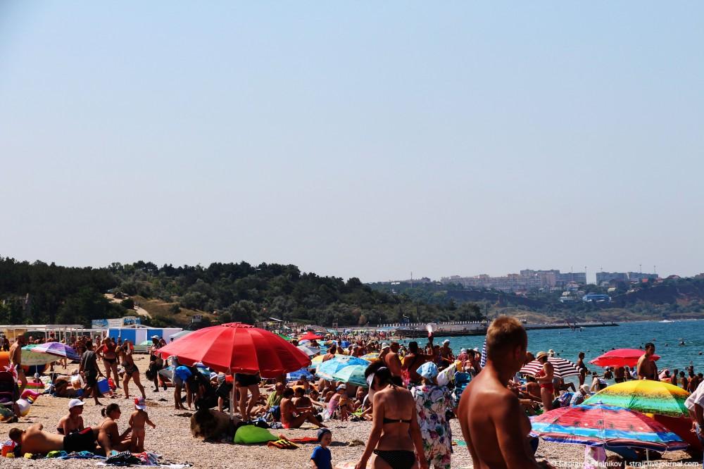 Опять про Пустые пляжи Крыма