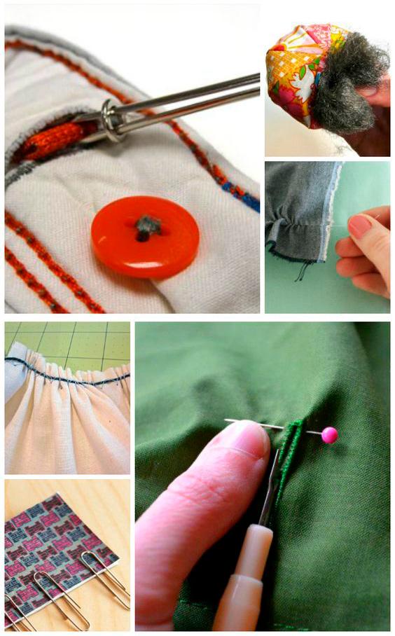 15 бабушкиных хитростей в шитье