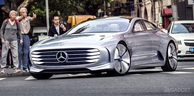 В сентябре Mercedes представит конкурента Tesla Model S