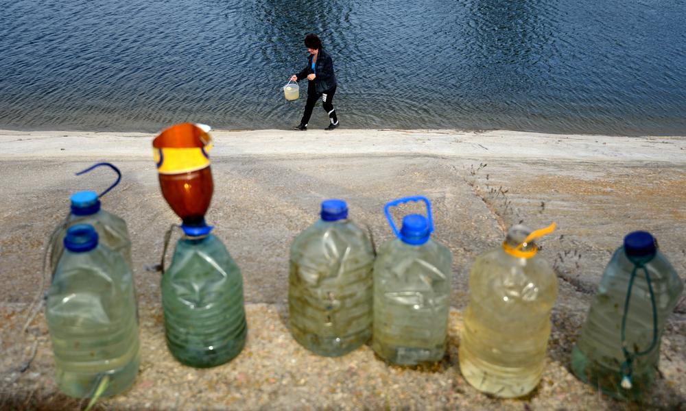 Житель Крыма рассказал правду о ситуации с водой на полуострове