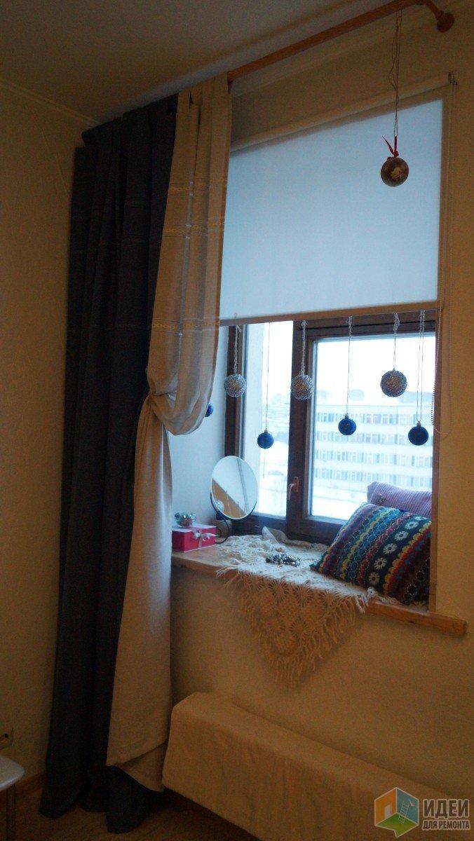 Фото штор нашла только в таком качестве, прошу прощения. Зато Новый год :))