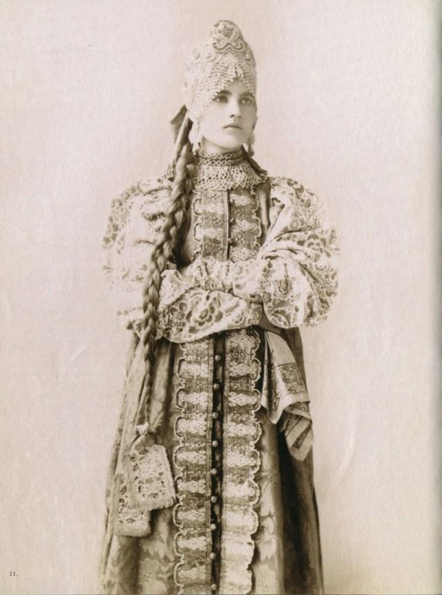 Русские красавицы 19-го века…