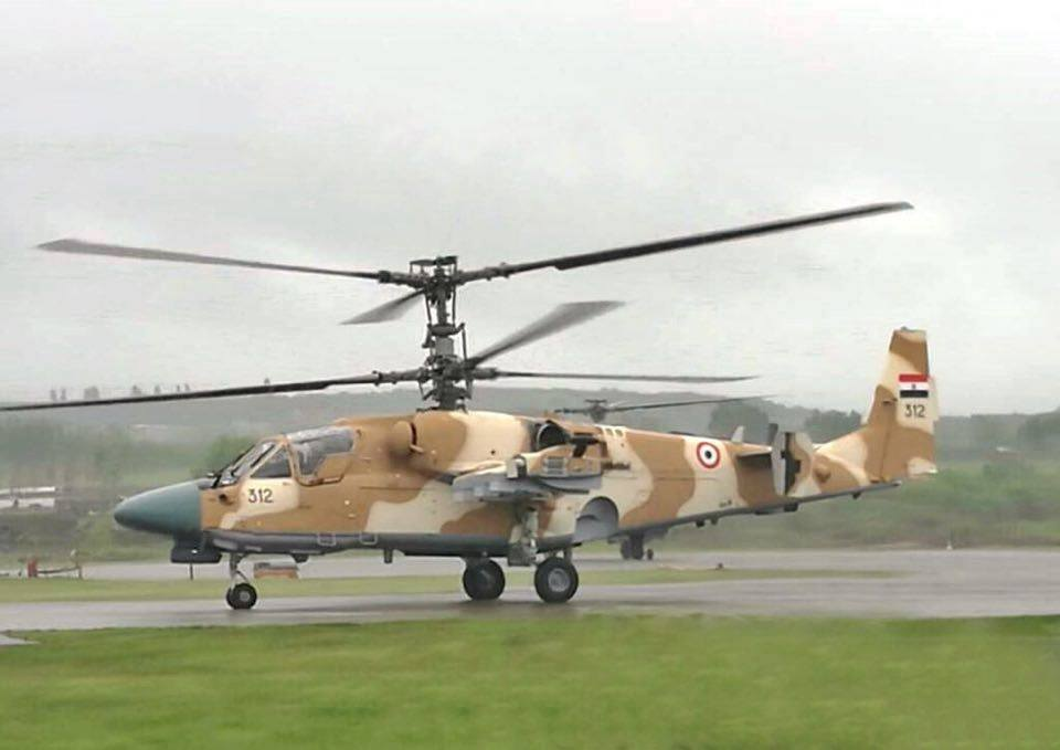 Первые Ка-52 для Египта
