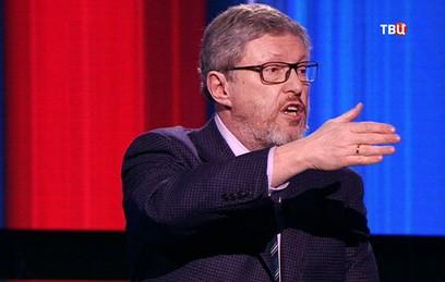 Явлинский и Жириновский устроили перепалку во время дебатов на ТВЦ