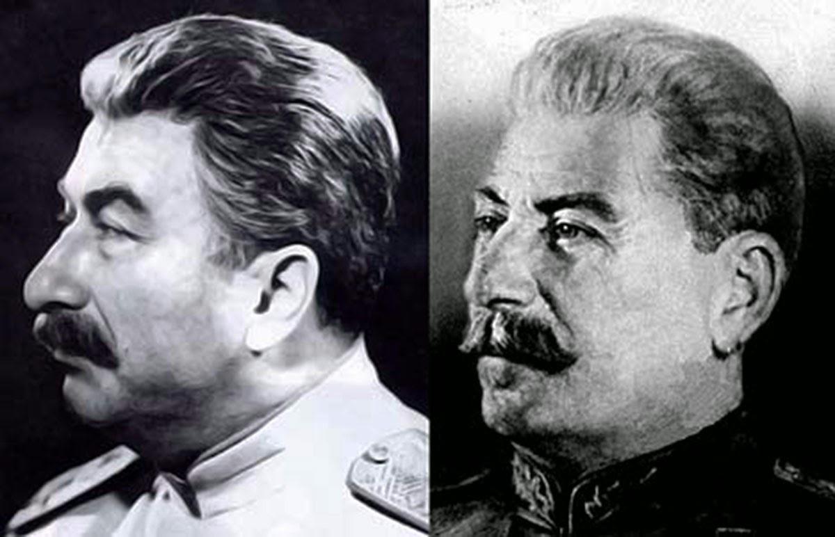 Сталин вышел на первое место…