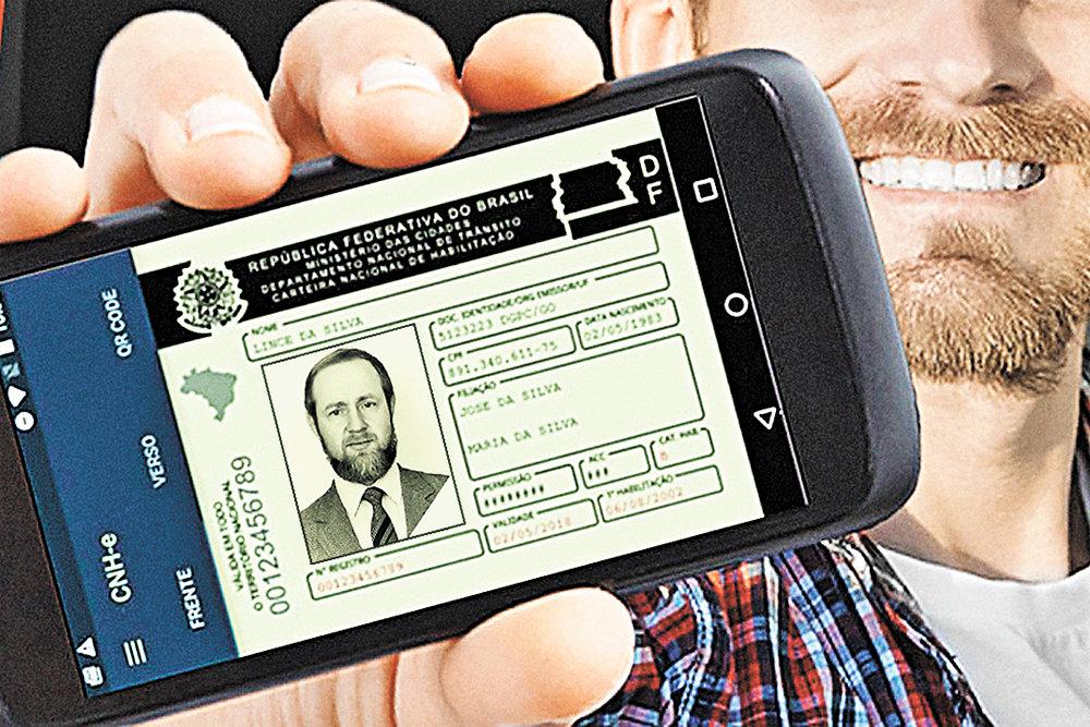 В Бразилии ввели электронные права